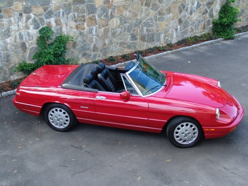 Spider Veloce Commemorative Edition Alfa Romeo Bulletin Board - 1994 alfa romeo spider