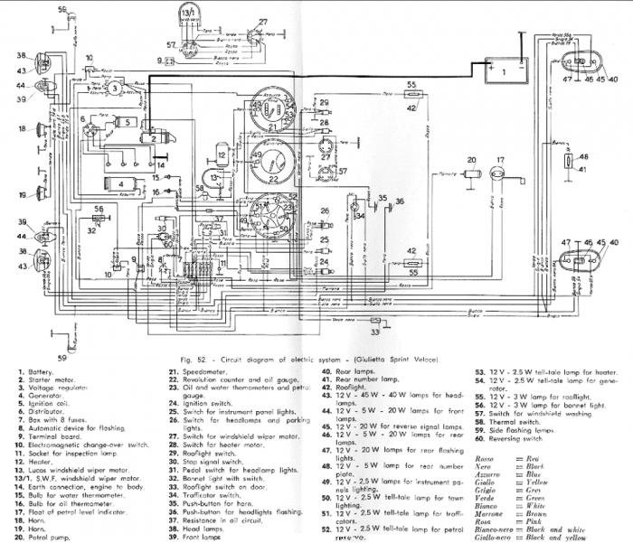 Alfa Romeo Wiring Diagram 156