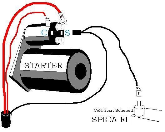 22re cold start wiring diagram starter wiring alfa romeo forums  starter wiring alfa romeo forums
