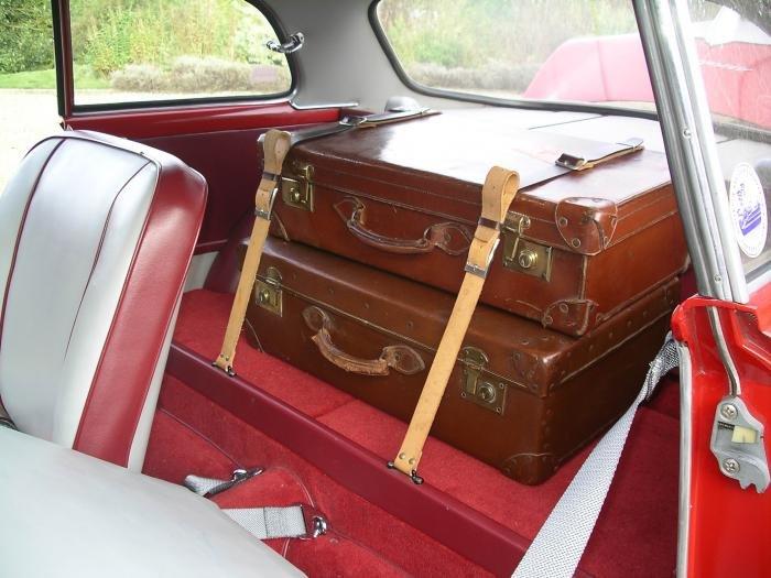 1600 Sprint leather luggage straps - Alfa Romeo Bulletin Board ...
