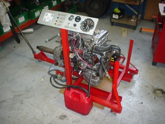 D Engine Test Stand Stand Engine