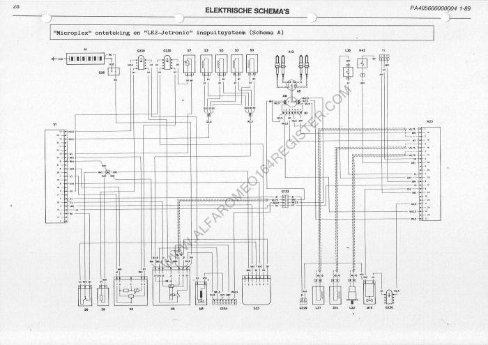 Loss of spark on cylinders 1 and 4 alfa romeo bulletin board on citroen zx electrical wiring schematic Jeep Electrical Wiring Schematic Household Electrical Circuit Diagrams