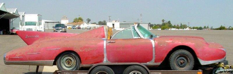 Rare Disco Volante Barn Find