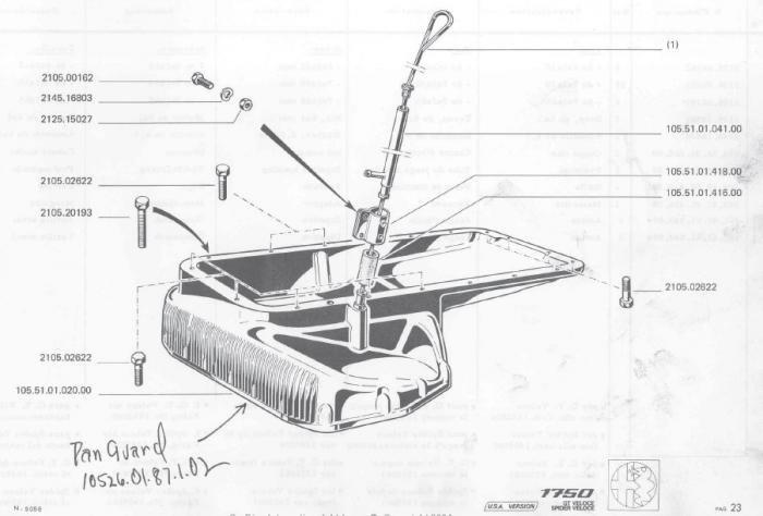 67 gtv parts manual
