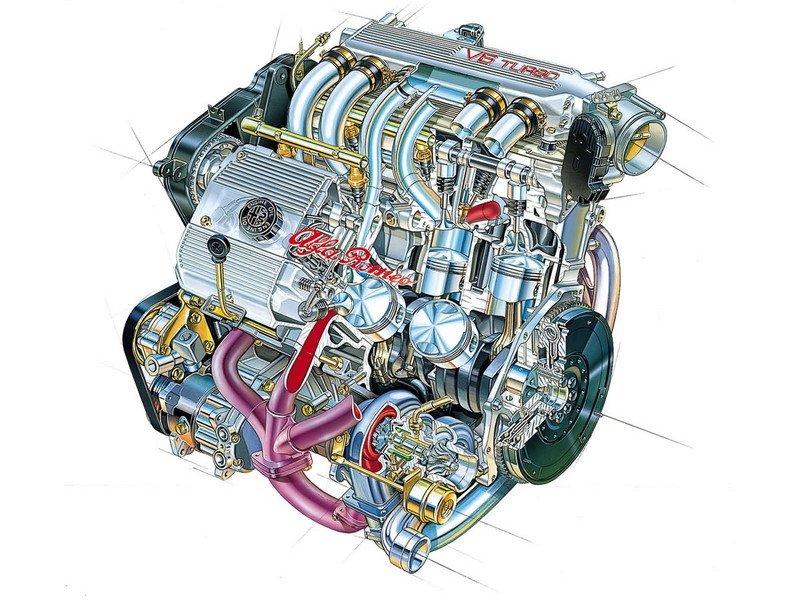 2 0 v6 12v turbo engine alfa romeo bulletin board forums