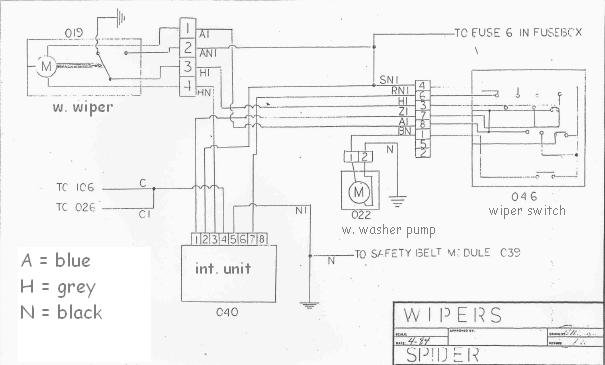 [DHAV_9290]  How to test a wiper motor on the bench? | Alfa Romeo Forums | Bosch Wiper Wiring Diagram |  | Alfa BB