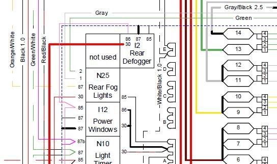 [DIAGRAM_5UK]  Loose Wire From Fuse Box? | Alfa Romeo Forums | Alfa Romeo Fog Lights Wiring Diagram |  | Alfa BB