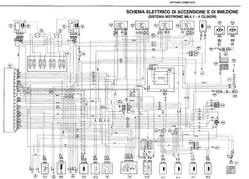 Alfa 75 Motronic Wiring Diagram