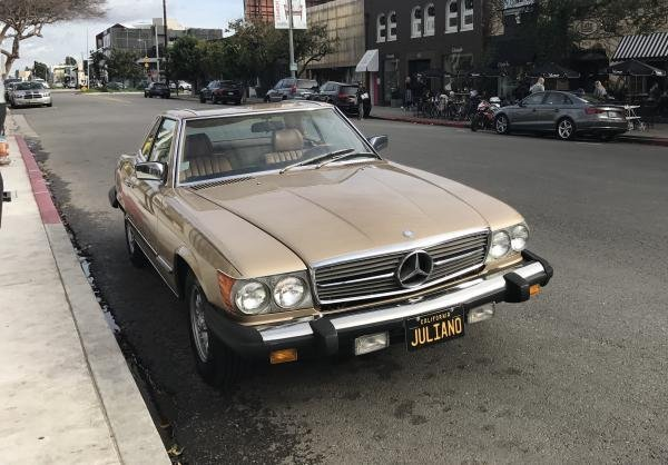Showcase cover image for LawrenceJuliano's 1985 Mercedes Benz 380SL