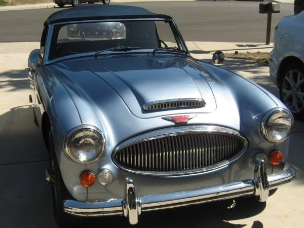 Showcase cover image for napster714's 1967 Austin Healey 3000