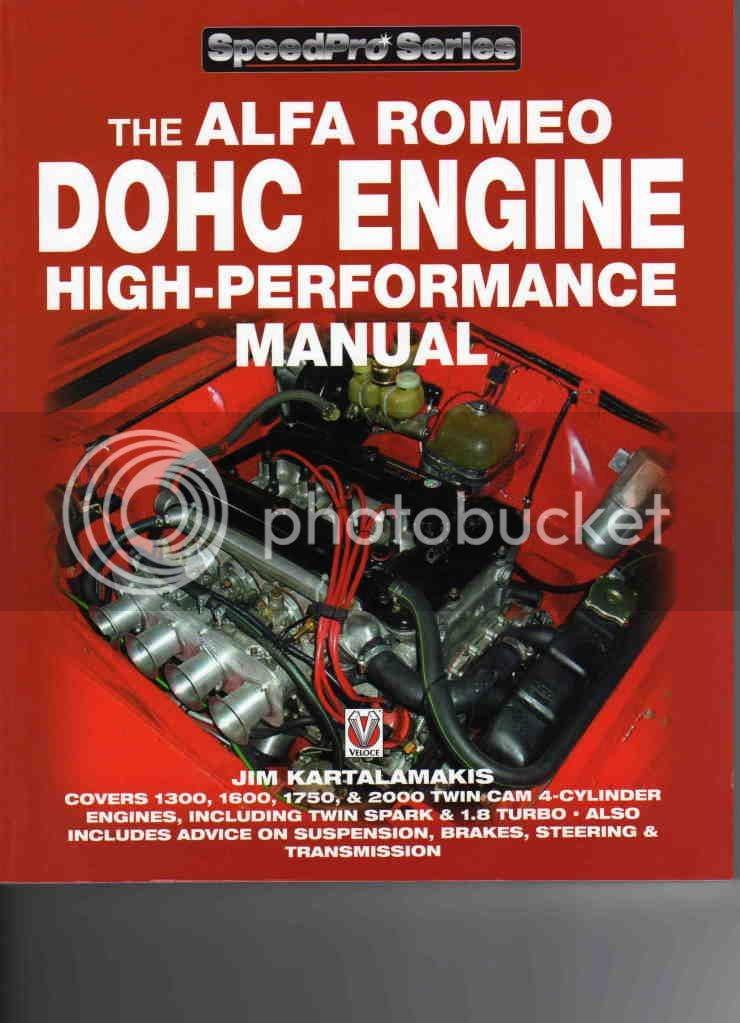 U0026quot Alfa Romeo Dohc Engine High Performance Manual U0026quot